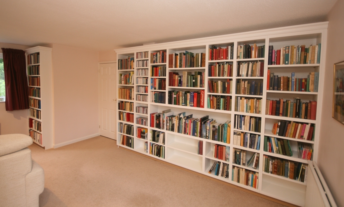 Bespoke Bookshelves Throughout 2017 Hand Painted Bespoke Bookshelves (View 4 of 15)