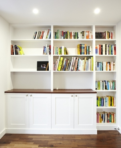 Bespoke Carpentry For All Your Needs – Paul White Carpentrypaul Regarding Popular Bespoke Shelves (View 2 of 15)