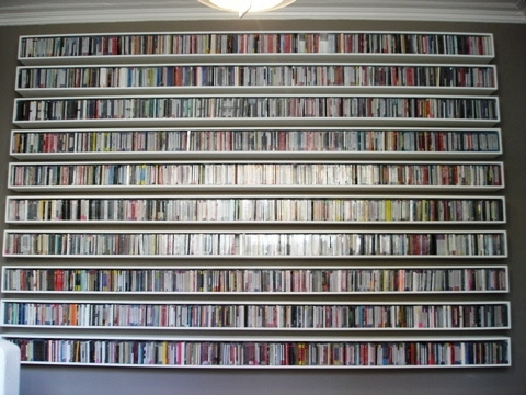 Bespoke Cd Storage Pertaining To Most Current Welcome To Cd Storage Shelves (View 3 of 15)