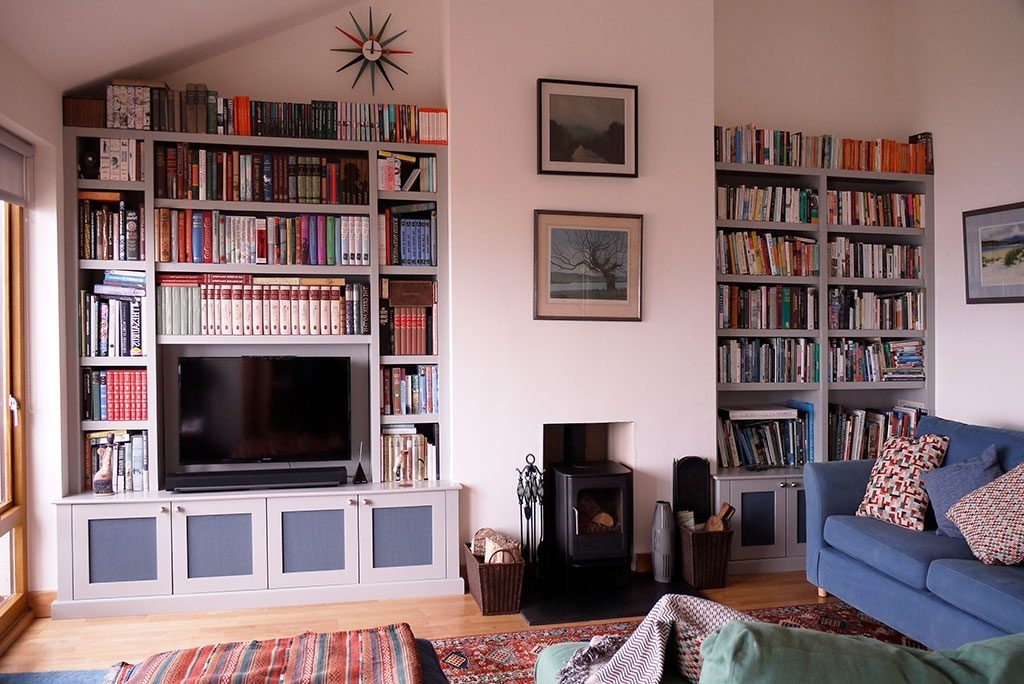 Bespoke Design Throughout Bespoke Bookcases (View 2 of 15)