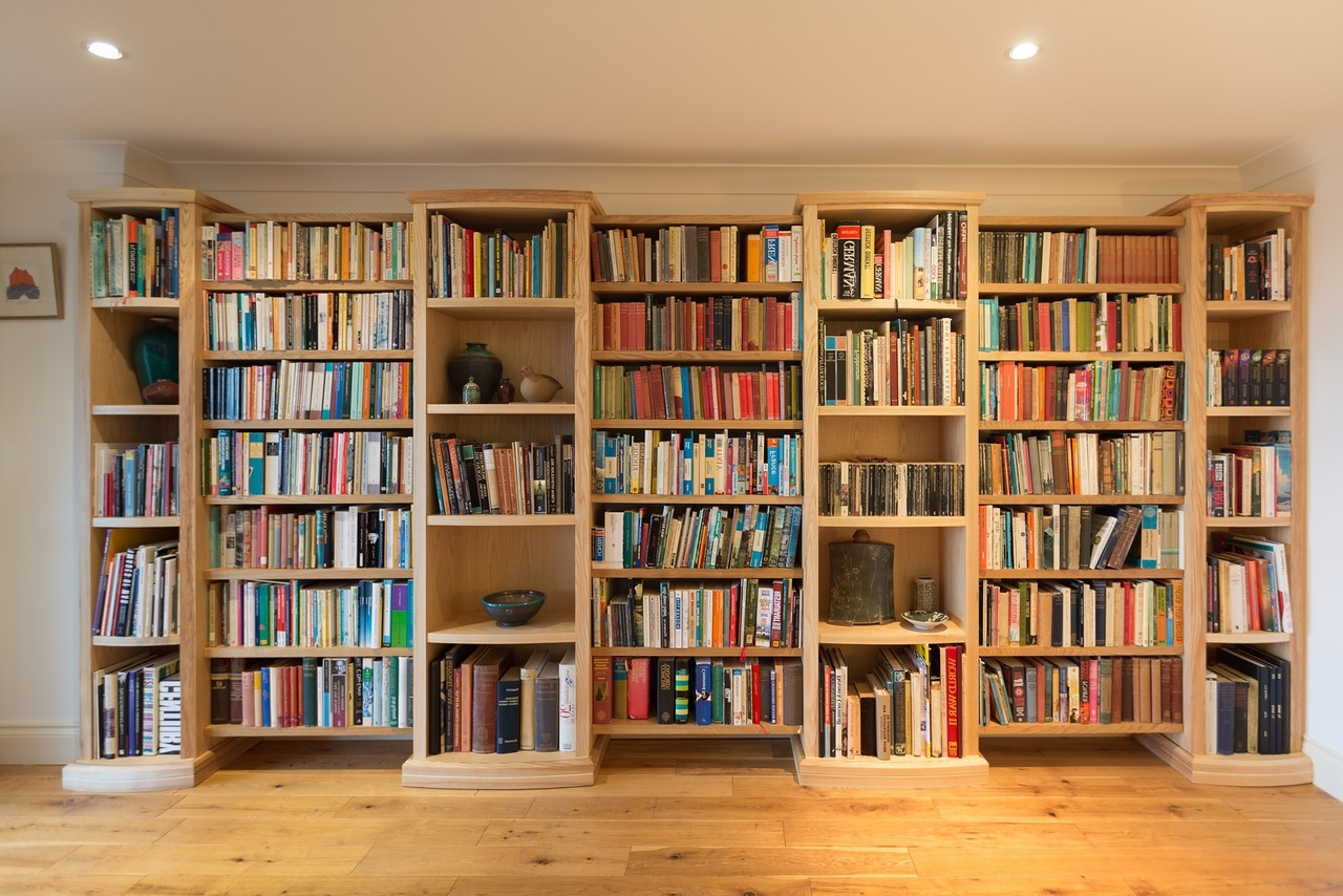 Bespoke Library Inside Preferred Bespoke Library Shelving – Kirstin Prisk (View 4 of 15)