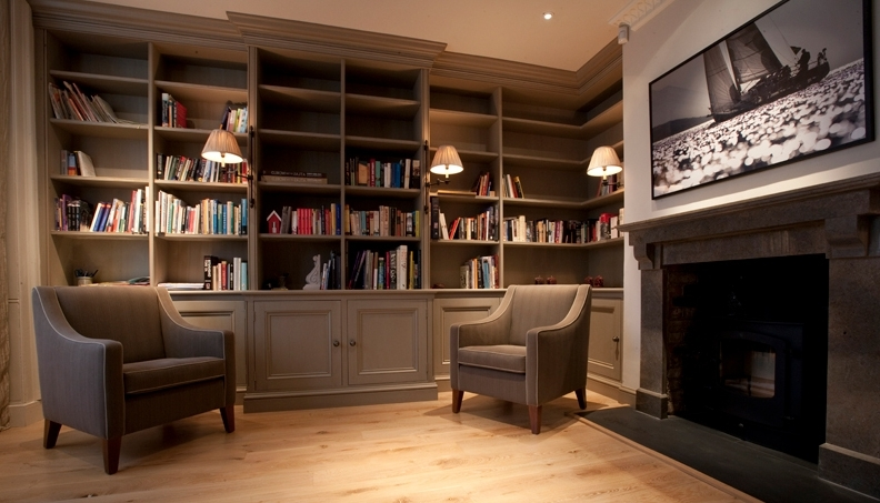 Bespoke Library Intended For Widely Used Portfolio – Marlborough Interiors (View 5 of 15)