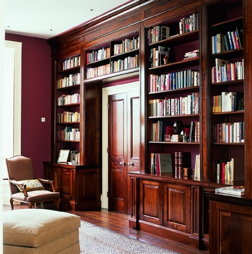 Bespoke Library Interior Design And Architecture (View 6 of 15)