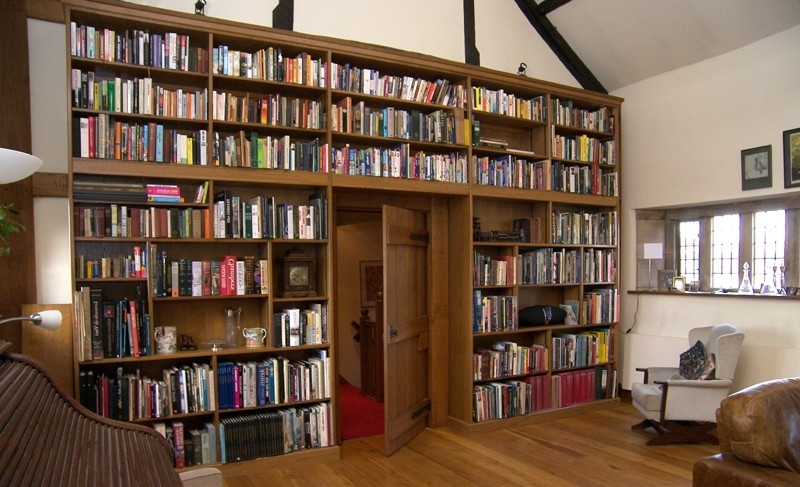 Bespoke Library With Famous Matthew James Furniture (View 8 of 15)