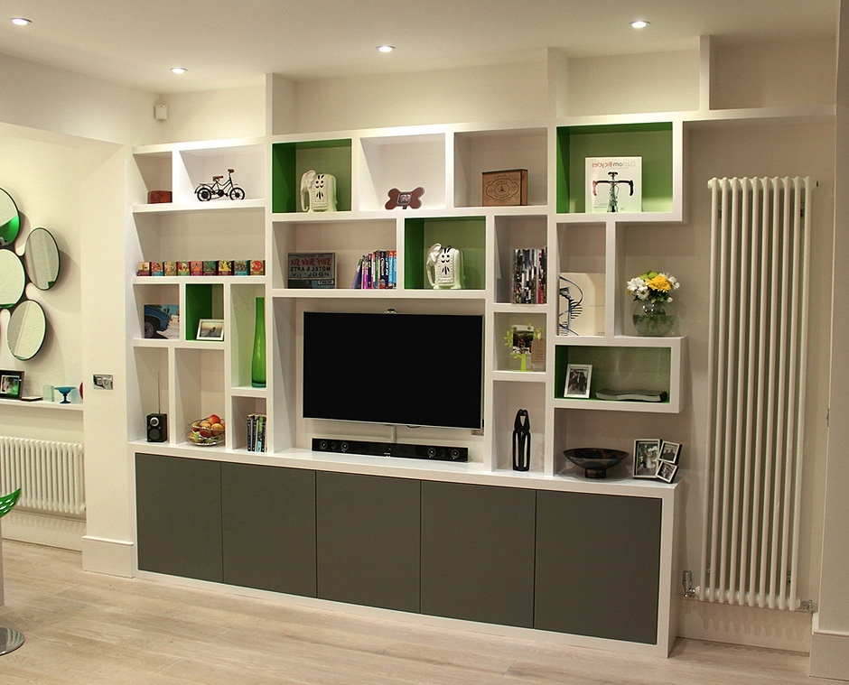 Bespoke Shelving Units Pertaining To Preferred Fitted Wardrobes, Bookcases, Shelving, Floating Shelves, London (View 4 of 15)