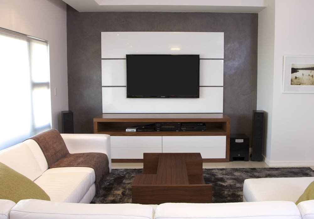 Bespoke Tv Cabinet Throughout Recent Livedesign Interiors (View 10 of 15)