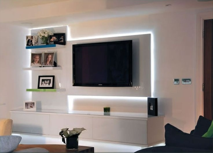 Bespoke Tv Stand Pertaining To Recent Pop Designs For Led Lighting Tv Units And Modern Led Lighting Tv (View 4 of 15)
