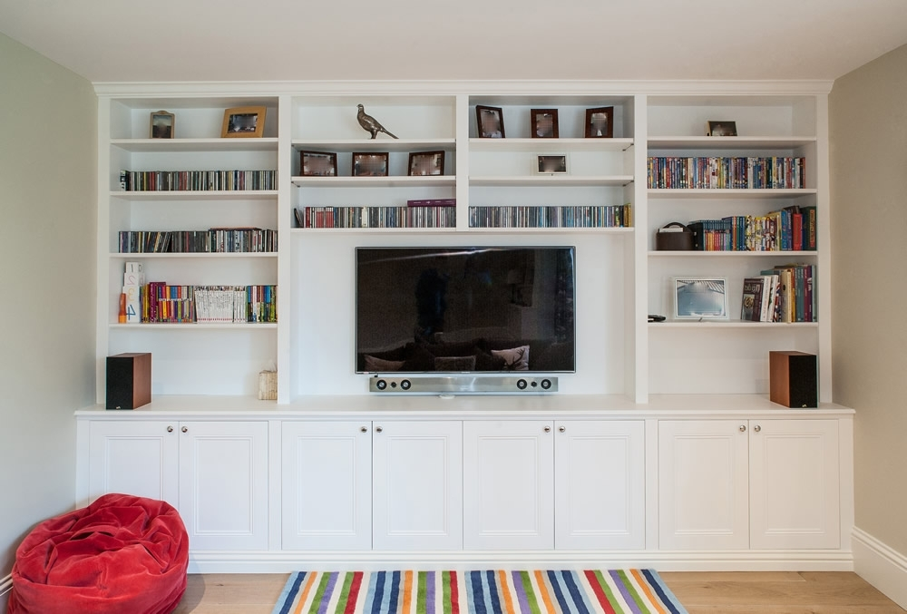 Bespoke Tv Units Intended For Recent Bespoke Entertainment Units, Custom Woodwork (View 6 of 15)