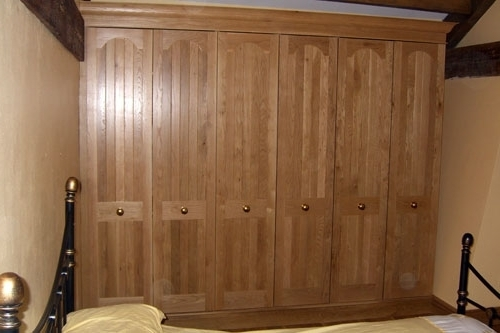 Bespoke Wooden Bedroom Furniture Built In Yorkshirefine Wood Intended For Most Current Fitted Wooden Wardrobes (View 5 of 15)