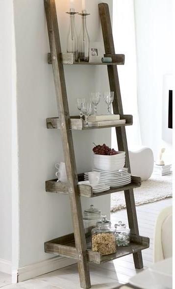 Best 25+ Ladder Shelves Ideas On Pinterest (View 3 of 15)