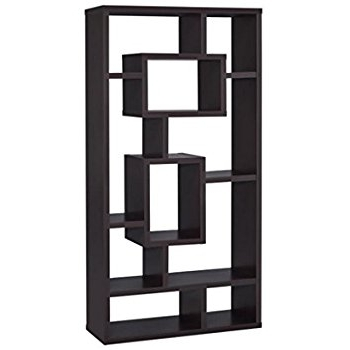 Best And Newest Amazon: Coaster Home Furnishings 800259 Casual Bookcase Regarding Coaster Bookcases (View 6 of 15)