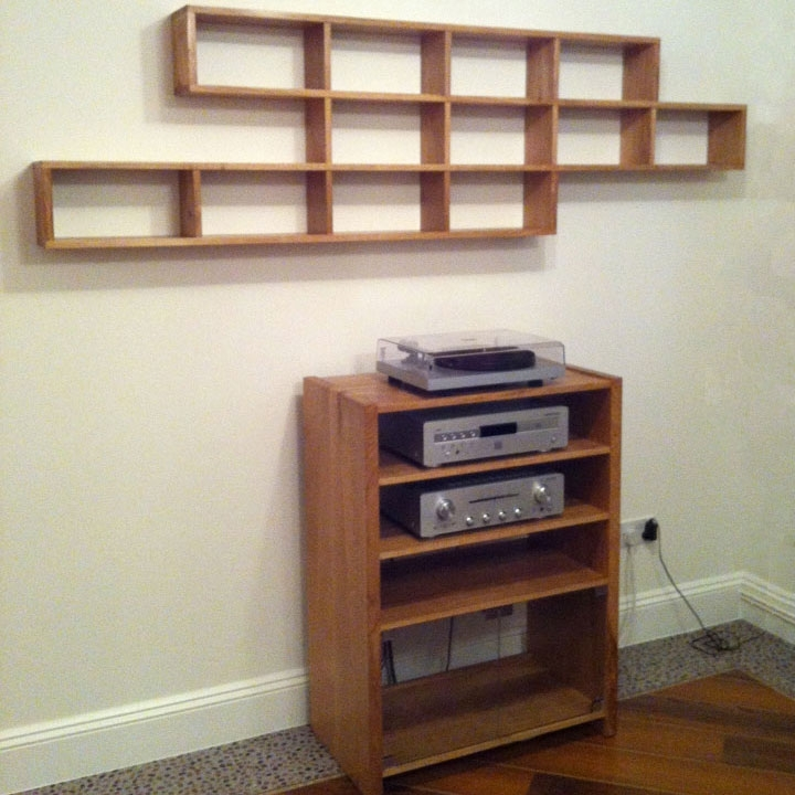 Best And Newest Bespoke Cd Storage Intended For Bespoke Oak & Wooden Cabinets Handmade In The Uk (View 6 of 15)