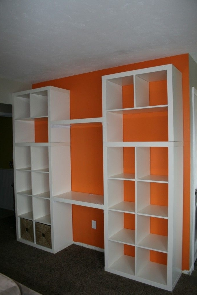 Featured Photo of Desk With Matching Bookcases