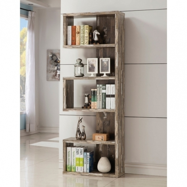 Best And Newest Distressed Wood Bookcases For Outstanding Furniture Large White Distressed Bookcase For Modern (View 13 of 15)