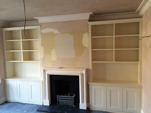 Best And Newest Fitted Alcove Cupboards And Bookshelves, Bespoke Cabinets Within Alcove Bookcases (View 4 of 15)