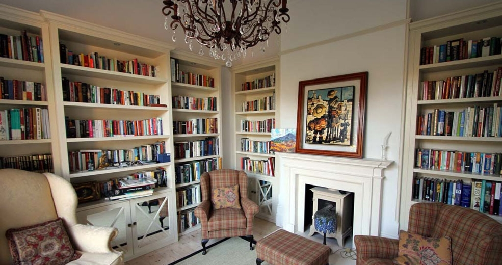 Best And Newest Fitted Bookcases Inside Bespoke Fitted Bookcases London – Fitted Home Office Furniture (View 1 of 15)