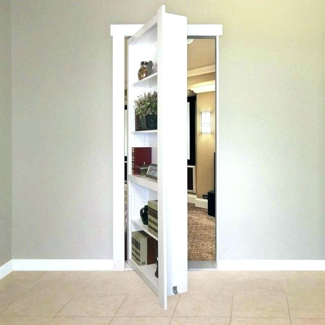 Best And Newest Hidden Passage Behind Bookcase Secret Door Plans Bookshelf Elegant Inside Hidden Door Bookcases (View 7 of 15)