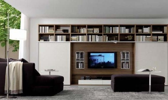 Best And Newest Modern Wall Units Pertaining To 15 Modern Tv Wall Units For Your Living Room (View 3 of 15)