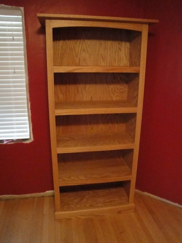 Best And Newest Red Oak Bookcase – Billy's Little Bench With Regard To Oak Bookshelves (View 2 of 15)