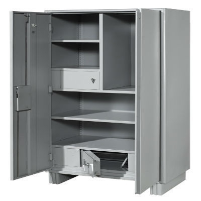 Best And Newest Steel Wardrobes At Rs 18000 /piece(S) (View 1 of 15)