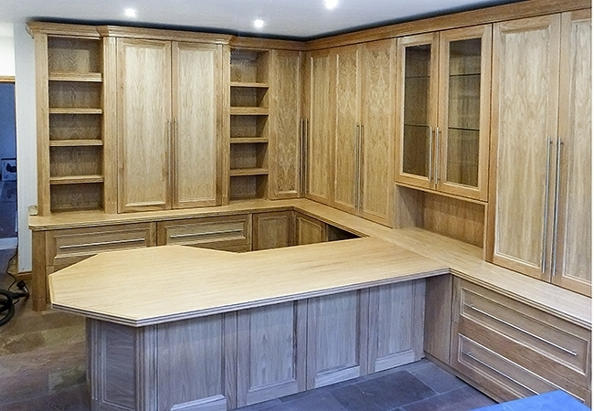 Best And Newest Study Cupboards With Fitted Home Study Furniture (View 1 of 15)