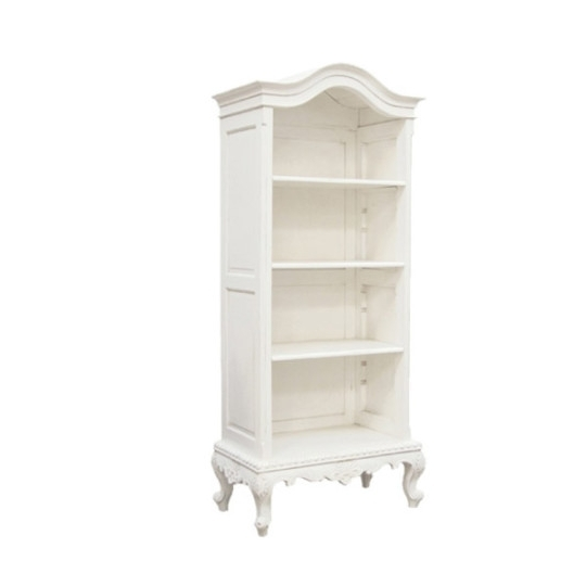 Best And Newest Tall White Bookcases Within Tall White Bookcase Bookcases White Mywebroom Traditional (View 2 of 15)