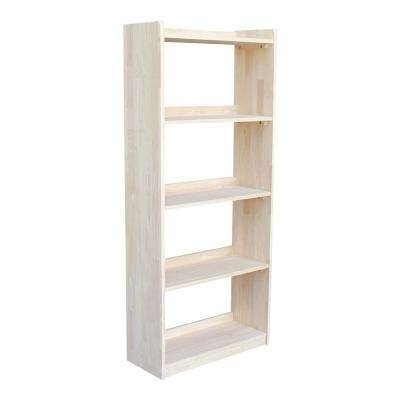 Best And Newest Unfinished – Bookcases – Home Office Furniture – The Home Depot Pertaining To Unfinished Bookcases (View 2 of 15)