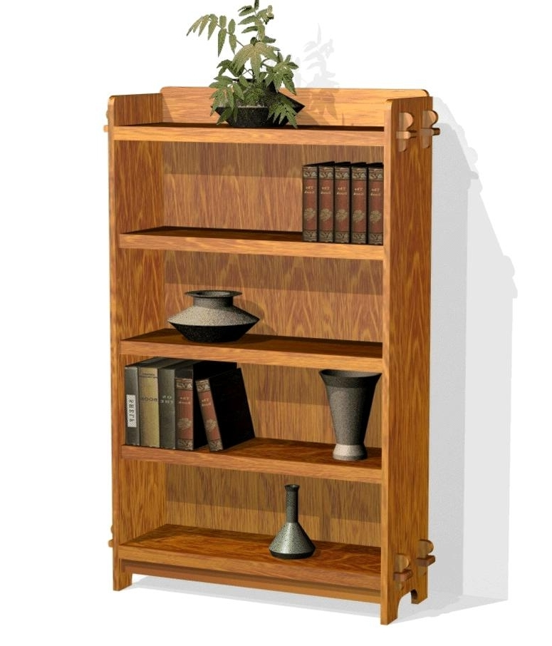 Best Woodworking Pertaining To 2017 Mission Style Bookcases (View 5 of 15)