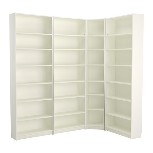 Billy Bookcase – White – Ikea Pertaining To Well Known White Corner Bookcases (View 1 of 15)