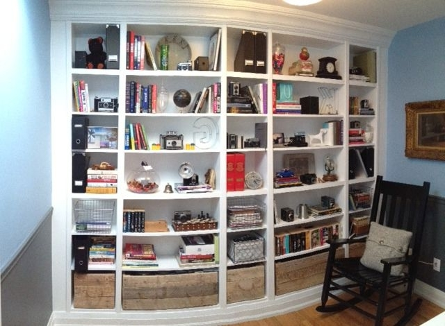 Billy Bookcases Pertaining To Well Known Ikea Hacks: The Best 23 Billy Bookcase Built Ins Ever (View 8 of 15)