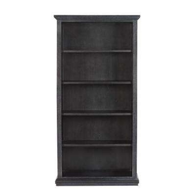 Black Bookcases Throughout Famous Black – Bookcases – Home Office Furniture – The Home Depot (View 3 of 15)