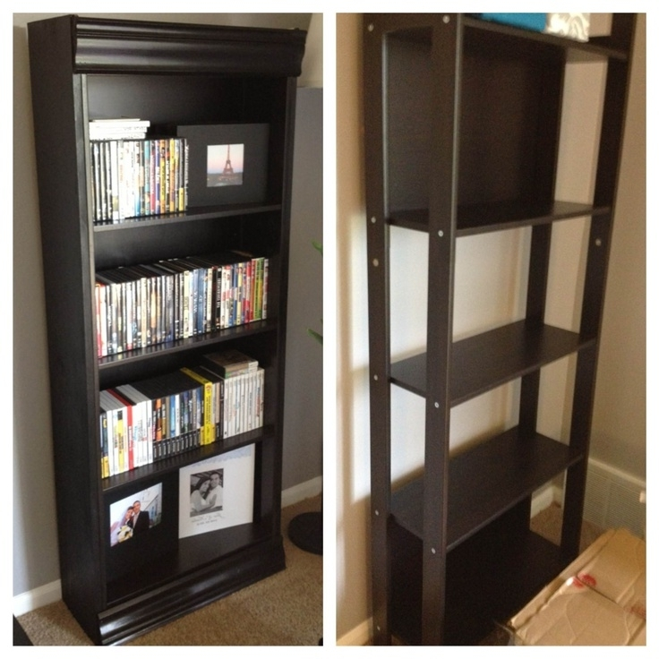 Black Bookcases Walmart Throughout Most Up To Date Bookshelf (View 8 of 15)