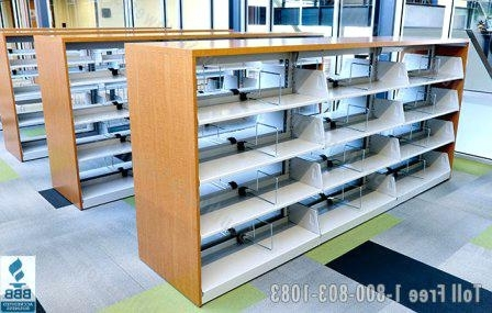 Book Rack Shelf Library Book Shelves Dividers Reference Shelving Intended For Well Liked Library Shelf Dividers (View 13 of 15)