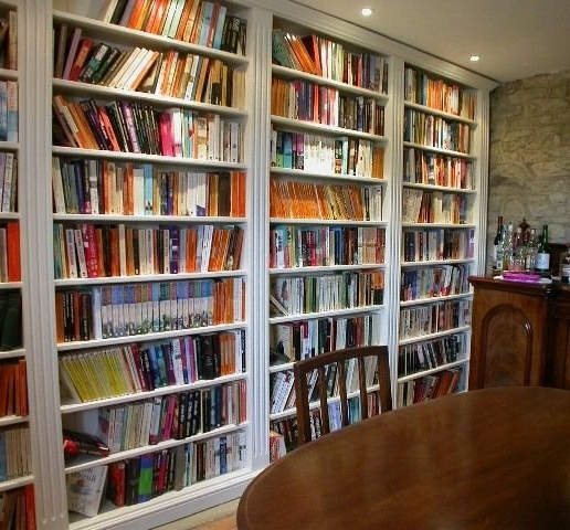Book Shelves For Bespoke Libraries (View 8 of 15)