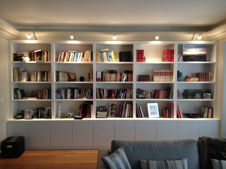 Book Shelves Pertaining To Fashionable Bespoke Shelving Units (View 7 of 15)