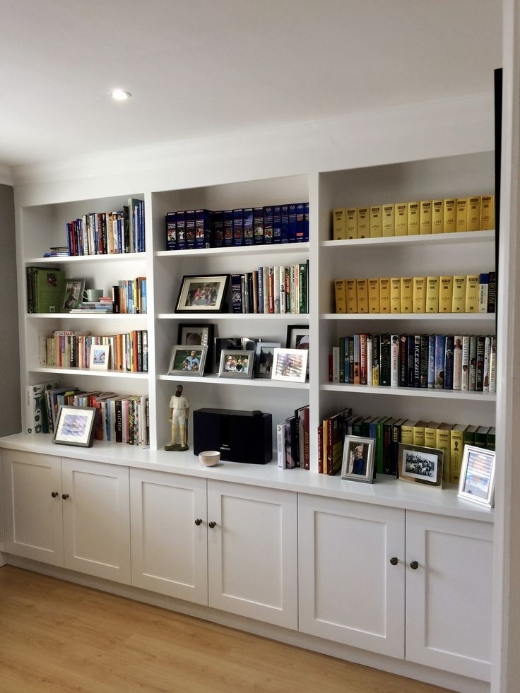 Book Shelves Regarding Bespoke Bookcases (View 4 of 15)