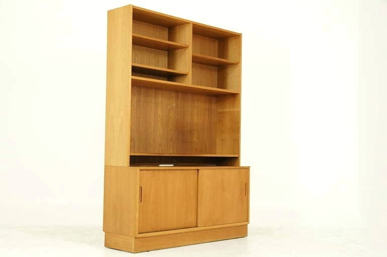 Bookcase ~ Contemporary Oak Bookcase Tall Contemporary Oak For Current Contemporary Oak Bookcases (View 6 of 15)