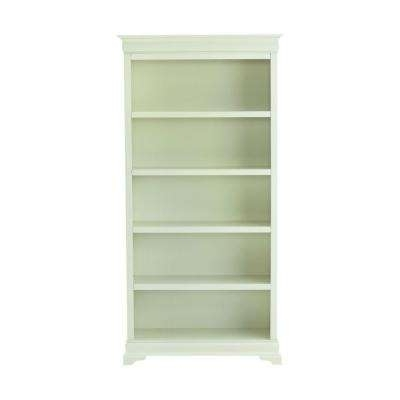 Bookcase – Home Decorators Collection – White – Bookcases – Home In Well Known White Bookcases With Cupboard (View 5 of 15)