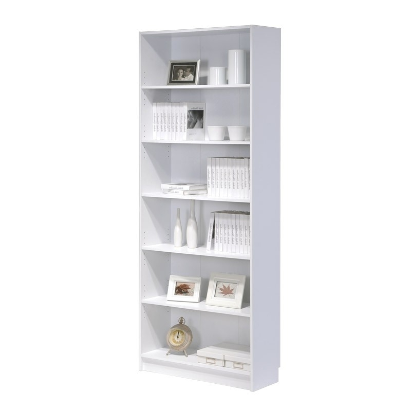 Bookcase Tall (white) Regarding Most Recently Released Tall White Bookcases (View 9 of 15)
