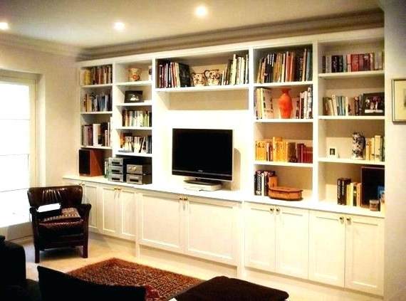 Bookcase Tv Unit Bookcase Unit Bookcase Built In Bookshelves Pertaining To Famous Tv Bookcases Unit (View 3 of 15)