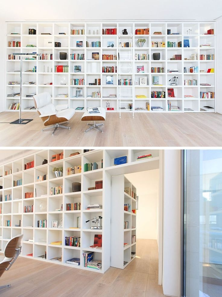 Bookcase White With White Bookcases (View 8 of 15)