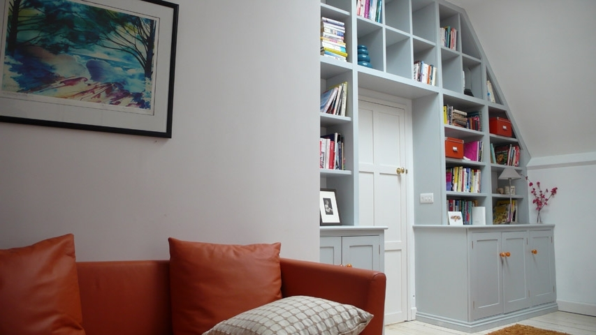 Bookcases, Cabinets, Wardrobes And Fitted Furniture Handmade Pertaining To Preferred Bookcases With Cupboards (View 6 of 15)