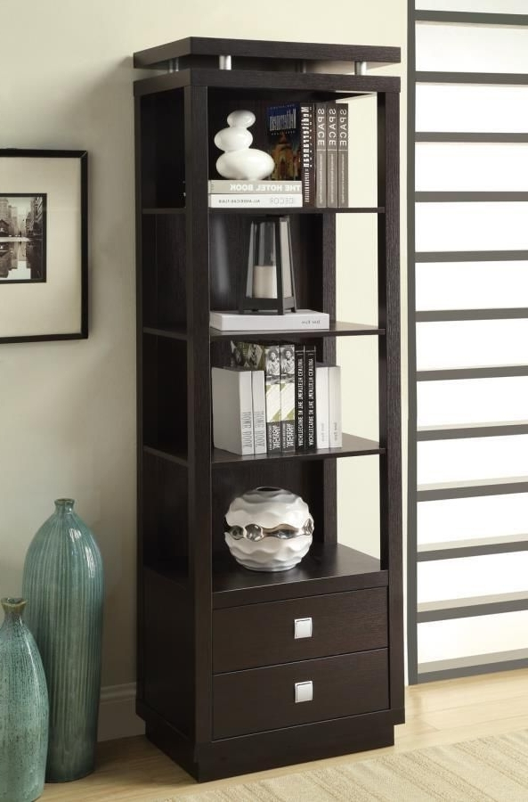 Bookcases, Coastal Pertaining To Well Known Coaster Bookcases (View 7 of 15)