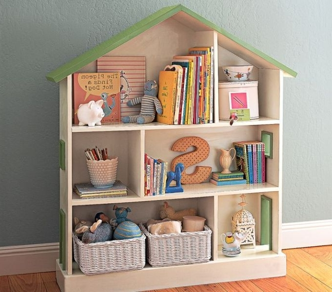 Bookcases For Toddlers In Widely Used Bookcases For Toddlers, Pottery Barn Kids Dollhouse Bookcase (View 3 of 15)