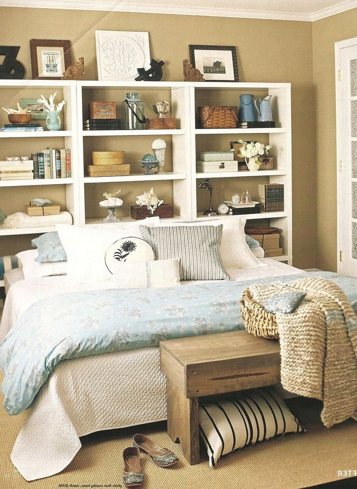 Bookcases Headboard In Well Liked 11 Best Bookcase Headboard/storage Beds Images On Pinterest (View 4 of 15)