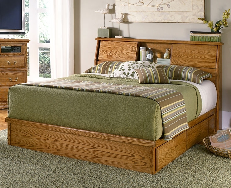 Bookcases Headboard King Inside Famous Bedroom Furniture (View 10 of 15)