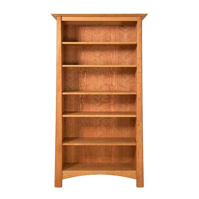 Bookcases Ideas: Best Cherry Wood Bookcase Ever Cherry Wood With Regard To 2018 Cherry Bookcases (View 2 of 15)