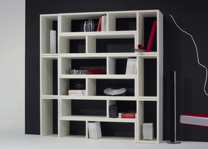 Bookcases Ideas: Wonderful Contemporary Bookcases Contemporary Regarding Most Current Contemporary Bookcases (View 3 of 15)