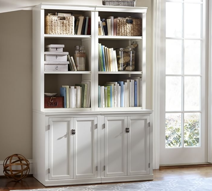 Bookcases In Trendy Logan Bookcase With Doors (View 4 of 15)