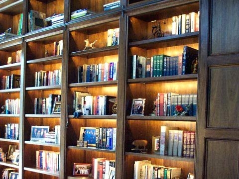 Bookcases Lighting Within 2017 Bookcase ~ Corner Bookshelf With Lights Balmoor Double Bookcase (View 13 of 15)